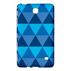 Geometric Chevron Blue Triangle Samsung Galaxy Tab 4 (7 ) Hardshell Case