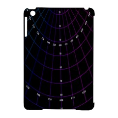 Formula Number Line Purple Natural Apple Ipad Mini Hardshell Case (compatible With Smart Cover)