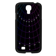 Formula Number Line Purple Natural Samsung Galaxy S4 I9500/ I9505 Case (black)