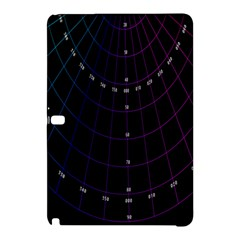 Formula Number Line Purple Natural Samsung Galaxy Tab Pro 10 1 Hardshell Case