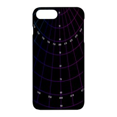 Formula Number Line Purple Natural Apple Iphone 7 Plus Hardshell Case