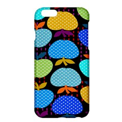 Fruit Apples Color Rainbow Green Blue Yellow Orange Apple Iphone 6 Plus/6s Plus Hardshell Case
