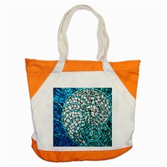 Glass Mosaics Blue Green Accent Tote Bag