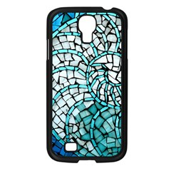 Glass Mosaics Blue Green Samsung Galaxy S4 I9500/ I9505 Case (black)