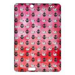 Goose Swan Anchor Pink Amazon Kindle Fire Hd (2013) Hardshell Case