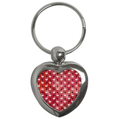 Goose Swan Hook Red Key Chains (heart)