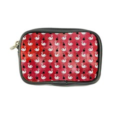 Goose Swan Hook Red Coin Purse
