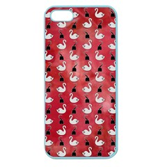Goose Swan Hook Red Apple Seamless Iphone 5 Case (color)