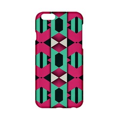 Green pink shapes                                Apple iPhone 6/6S Hardshell Case