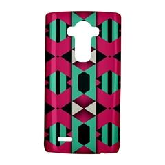 Green pink shapes                                LG G4 Hardshell Case