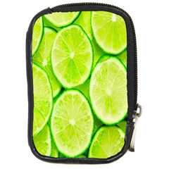Green Lemon Slices Fruite Compact Camera Cases