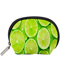 Green Lemon Slices Fruite Accessory Pouches (small)