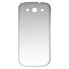 Halftone Simple Dalmatians Black Circle Samsung Galaxy S3 S Iii Classic Hardshell Back Case