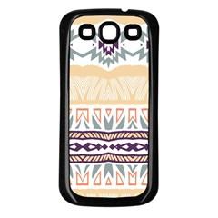 Tribal design       Samsung Galaxy S3 Back Case (Black)