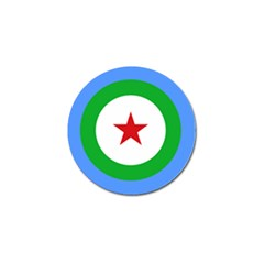 Roundel of Djibouti Air Force  Golf Ball Marker (10 pack)