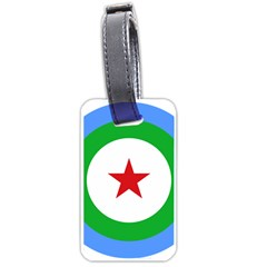 Roundel of Djibouti Air Force  Luggage Tags (One Side)