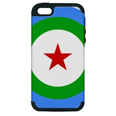 Roundel of Djibouti Air Force  Apple iPhone 5 Hardshell Case (PC+Silicone)