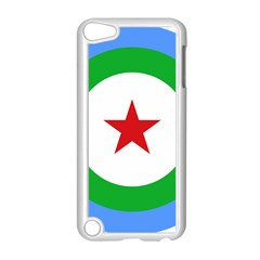 Roundel of Djibouti Air Force  Apple iPod Touch 5 Case (White)