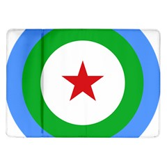 Roundel of Djibouti Air Force  Samsung Galaxy Tab 10.1  P7500 Flip Case