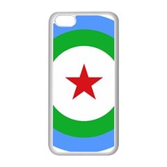 Roundel of Djibouti Air Force  Apple iPhone 5C Seamless Case (White)