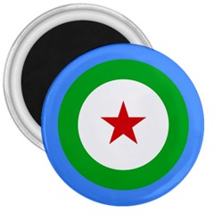 Roundel of Djibouti Air Force 3  Magnets