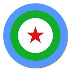 Roundel of Djibouti Air Force Magnet 5  (Round)