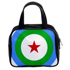 Roundel Of Djibouti Air Force Classic Handbags (2 Sides)