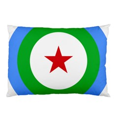 Roundel of Djibouti Air Force Pillow Case