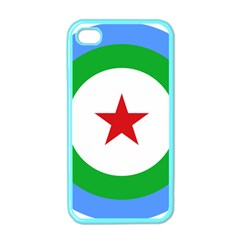 Roundel of Djibouti Air Force Apple iPhone 4 Case (Color)