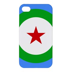Roundel of Djibouti Air Force Apple iPhone 4/4S Hardshell Case