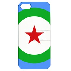 Roundel of Djibouti Air Force Apple iPhone 5 Hardshell Case with Stand