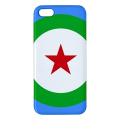 Roundel of Djibouti Air Force Apple iPhone 5 Premium Hardshell Case