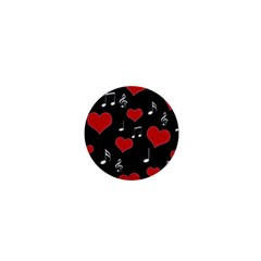 Love song 1  Mini Buttons