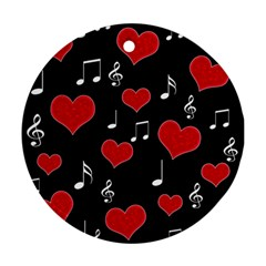 Love song Ornament (Round)