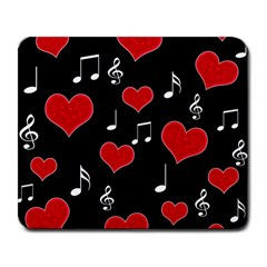 Love song Large Mousepads