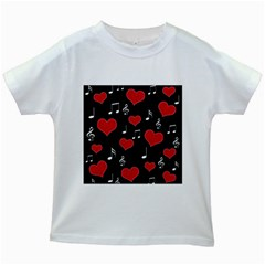 Love song Kids White T-Shirts