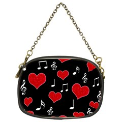 Love song Chain Purses (One Side)