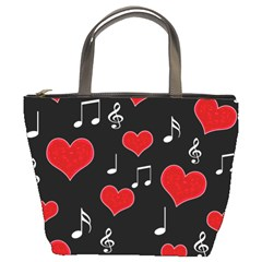 Love song Bucket Bags