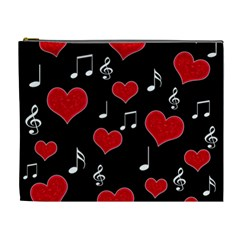 Love song Cosmetic Bag (XL)