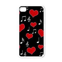 Love song Apple iPhone 4 Case (White)