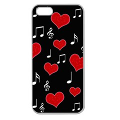 Love song Apple Seamless iPhone 5 Case (Clear)