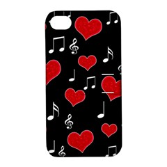 Love song Apple iPhone 4/4S Hardshell Case with Stand
