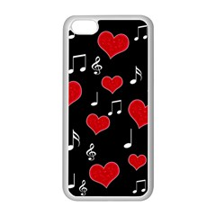 Love song Apple iPhone 5C Seamless Case (White)