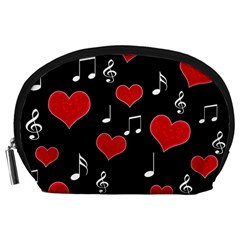 Love song Accessory Pouches (Large)