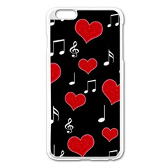 Love song Apple iPhone 6 Plus/6S Plus Enamel White Case