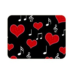 Love song Double Sided Flano Blanket (Mini)
