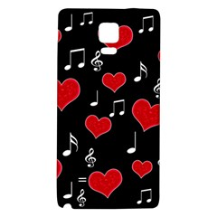 Love song Galaxy Note 4 Back Case