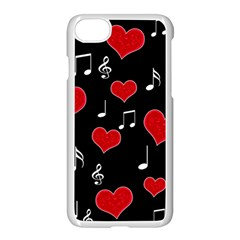 Love song Apple iPhone 7 Seamless Case (White)