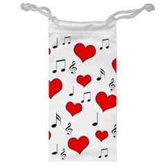 Love song pattern Jewelry Bag