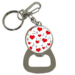 Love song pattern Button Necklaces